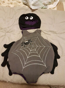 old navy spider costume - 6-12months EUC