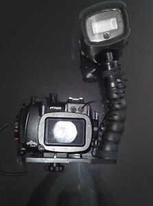 Fantasea FP7000 Underwater Housing for Nikon Coolpix P7000, Dept