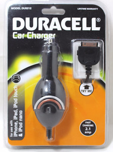 Duracell Car Charger Model DU5212 New