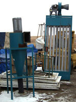 Sand blasting or Paint Booth 5hp Centrifugal dust collector