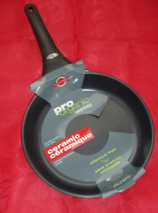 NEW Organic Ceramic Frying Pan & NEW Corelle Plates - 2 Sizes