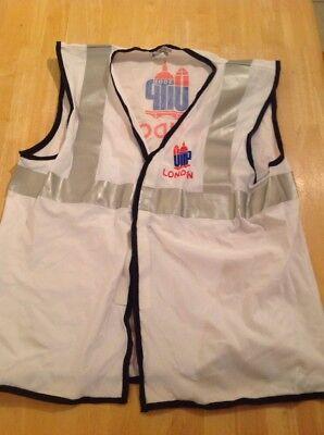 UITP London 2001 - White Hi-vis - Official Marshall Vest