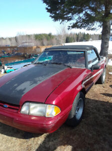 Mustang décapotable 1993