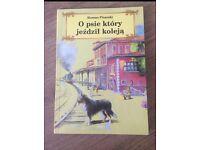 Polish book: O psie ktory jezdzil koleja