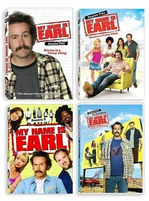 My Name Is Earl   Complete Series   Season 1 4  1 2 3   4    Brand New Dvd Sets