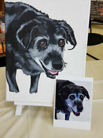 Paint Your Pet - Portrait Workshop