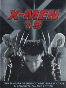 X-Men 1.5 DVD-Brand new and factory sealed 2 dvd set