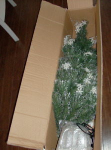 "FREE Bowring Christmas Tree when you buy 48"" Fiber Optic Tree"
