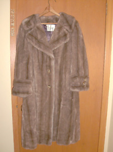 Vintage Faux Fur Coat by The Sterling Stall Group