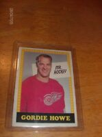 "GORDIE HOWE SPECIAL  "" MR. HOCKEY "" (NO NUMBER ERROR)1969-1970"