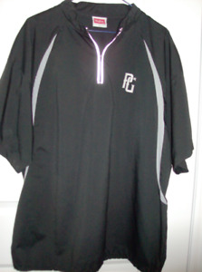 Baseball Jacket + Golf Shirt - Men's Rawling Jacket + Puma Large