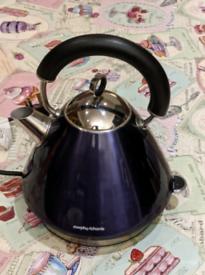 Morphy Richards funky purple kettle for sale 1.5 l