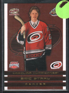 2003/04 Pacific Calder Collection Gold Eric Staal Hurricanes
