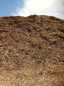Wood Chips, mulch, unsplit logs