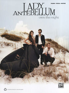 Lady Antebellum - Own the Night Songbook - Piano/Vocal/Guitar