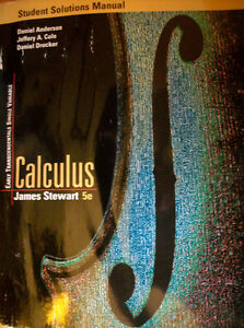 Stewart - Calculus - Early Transcedentals Single Variable Cambridge Kitchener Area image 3