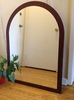 really nice mirror for dresser/wall in good condition