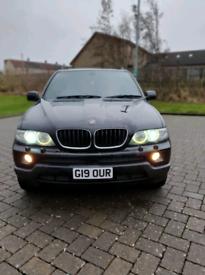 """BMW X5 3.0d 2005 """"""""55"""" plate £2500"""