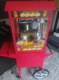 Popcorn candy floss machines