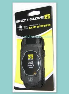 NEW BODY GLOVE CASE with BELT CLIP for VERIZON CASIO G'zOne RAVINE 2, 9241201