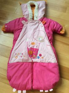 Ensemble d'hiver bébé fille SOURIS MINI baby girl winter suit