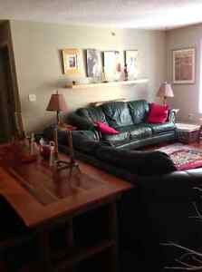 Fully furnished 2-bedroom Canmore condo avail June