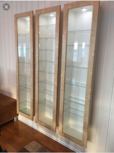 Looking for Ikea Bertby Glass Display cases