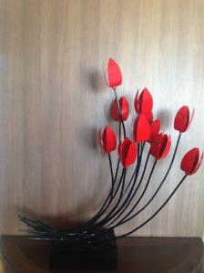 Décoration Tulipe en fer