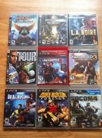 Huge lot is ps3 games playstation 3