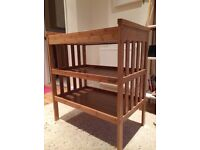 East coast bamboo baby changing table
