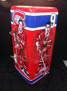 Réfrigerateur antique *****AIRBRUSH CANADIEN DE MONTRÉAL *****