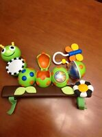 Caterpillar Stroller Toy
