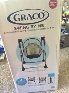 Brand new Graco baby swing Prince George British Columbia image 1