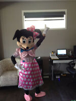 MICKEY MOUSE PINK MASCOT $60/24 hr rental