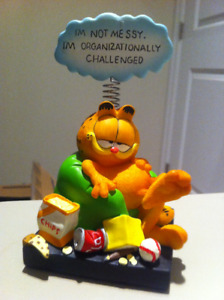 Garfield - I am not messy. I am organizationally challenged