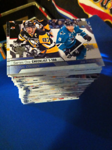 2016-17 Complete SERIES one upperdeck set