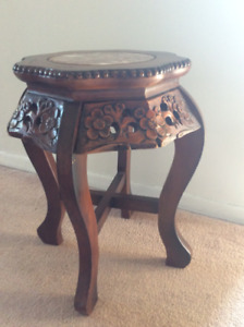 Whimsical side table/stool