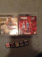 PS3 and ds games