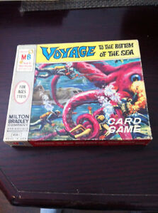 1964 Voyage To The Bottom Of The sea Card Game Kitchener / Waterloo Kitchener Area image 1
