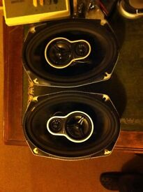 150 w Tevion car speakers 6x9