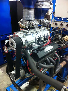 Small Block Chevy 400 Blower Engine