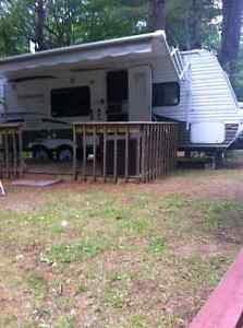 Camper Trailer At Stony Lake For Sale