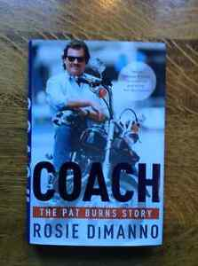 Coach The Pat Burns Story by Rosie DiManno[signed]