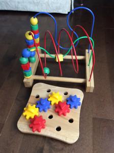 Ikea wooden toy set