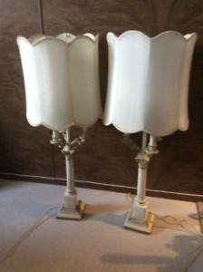 Two table lamp