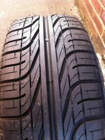Brand new Pirelli 205/55/16 on vw steel
