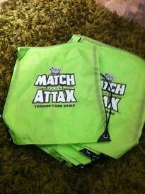 Match attax bags new football kids