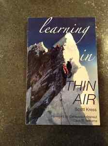 Learning in Thin Air by Scott Kress