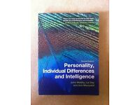 Personality, Individual Differences and Intelligence by John Maltby, Liz Day & Ann Macaskill
