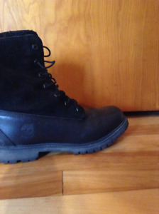Timberland boots for women in leather